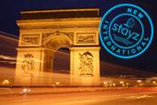 arc de triomphe paris with dinkus