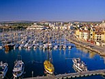 Scenic: Interest-only mortgage has left us with no equity. Pictured, Vilamoura Marina in the Algarve