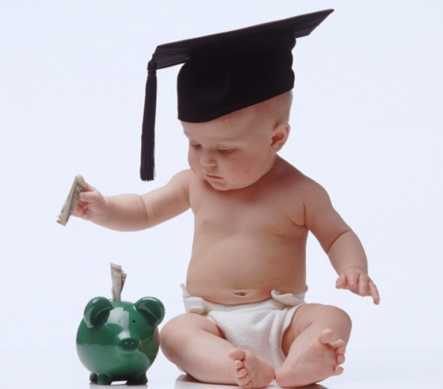 Cash machine: The average cost of raising a child is £10,000 a year