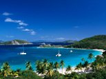 Beautiful: The British Virgin Islands - but is it a safe place for a £30k investment?