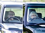 PICS SHOWS;Royals On there way to a grouse shoot near the balmoral estate.\nThe Queen joins the rest of the family for Lunch on the Grouse Mooors
