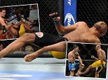 Anderson Silva's career is in jeopardy after his leg snapped