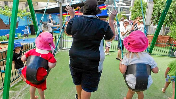 Labor says the childcare wage rise was designed to help give stability to the sector.