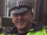 Debbie Pugh, who was walking with her children to school, was allegedly splashed by a driver - who was spotted by PC Hercules (both pictured)
