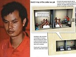 Li Hao, 35, has been executed in China for keeping six women as 'sex slaves' and for his role in the murder of two of them