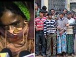 Kangaroo court orders Indian woman to be gang-raped by 13 men for having a relationship with a man from another village... with the 'judges' carrying out the punishment