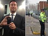 Shot: Stock broker Robin Clark, 44, was attacked in Shenfield, Essex
