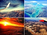 Snapped thousands of feet above the ground, this set of pictures show the beauty of earth as seen from the comfort of the plane cabin