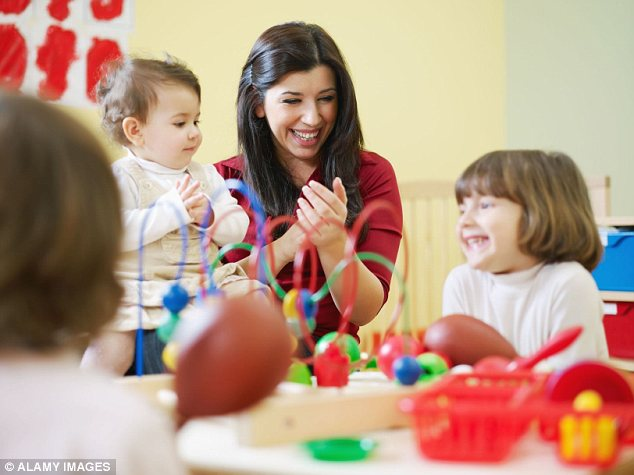 Childcare costs are soaring - leaving many parents unable to return to work, even if they want to