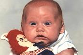 Awkward baby photos
