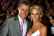 Bec and Lleyton's record breaking pad