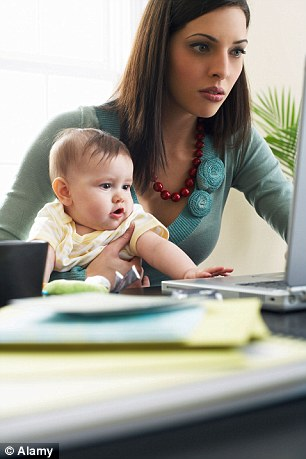 A childcare subsidy aimed at persuading mothers of young children to return to work has cost taxpayers an astonishing £66,000 for every woman who has taken a job. File picture