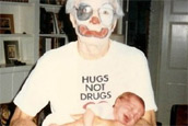 clown grandpa